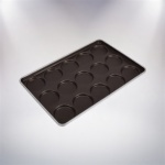 Non-stick Hamburger Roll Tray-15