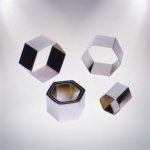Hexagon Pastry Cutters-6pcs