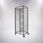 9 Tiers Aluminium Alloy Trolley