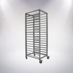 18 Tiers Aluminium Alloy Trolley