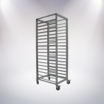 18 Tiers Aluminium Alloy Trolley(Anode)