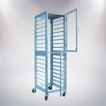 18 Tiers Aluminium Alloy Trolley(Closed)